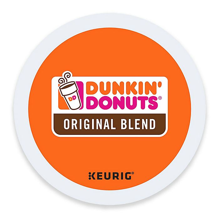 Alternate image 1 for Dunkin' Donuts® Original Blend Coffee Keurig® K-Cup® Pods 16 Count
