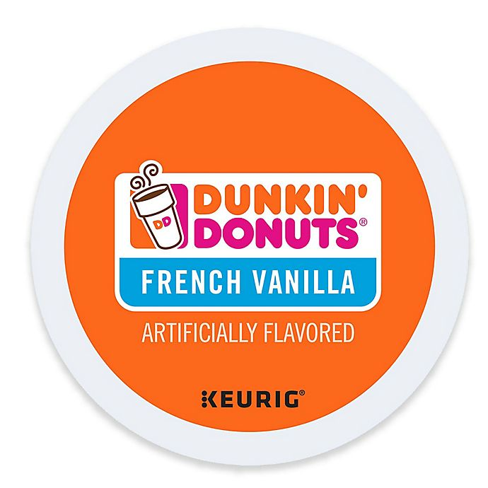 9164a7524c532 Dunkin' Donuts® French Vanilla Flavored Coffee Keurig® K-Cup® Pods ...