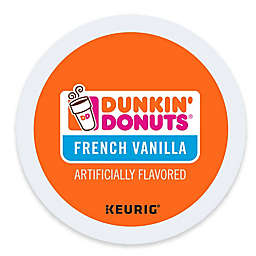 Dunkin' Donuts® French Vanilla Flavored Coffee Keurig® K-Cup® Pods 16-Count