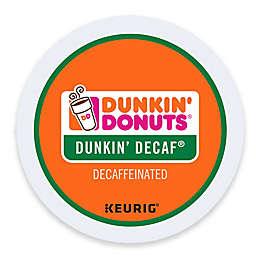 Keurig® K-Cup® Pack 16-Count Dunkin' Donuts® Decaf Coffee