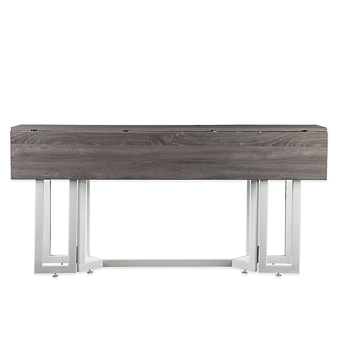 Alternate image 1 for Holly & Martin® Driness Drop Leaf Table in Grey