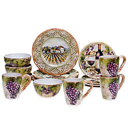 Certified International Sanctuary Wine Dinnerware Collection