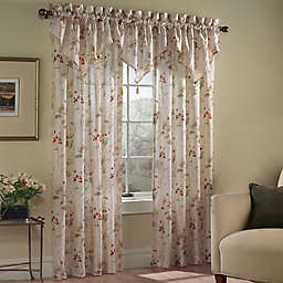 Curtains With Attached Valance Bed Bath Beyond