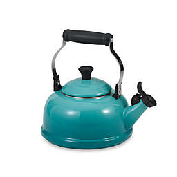 Le Creuset® 1.7 qt. Classic Whistling Tea Kettle in Caribbean Blue