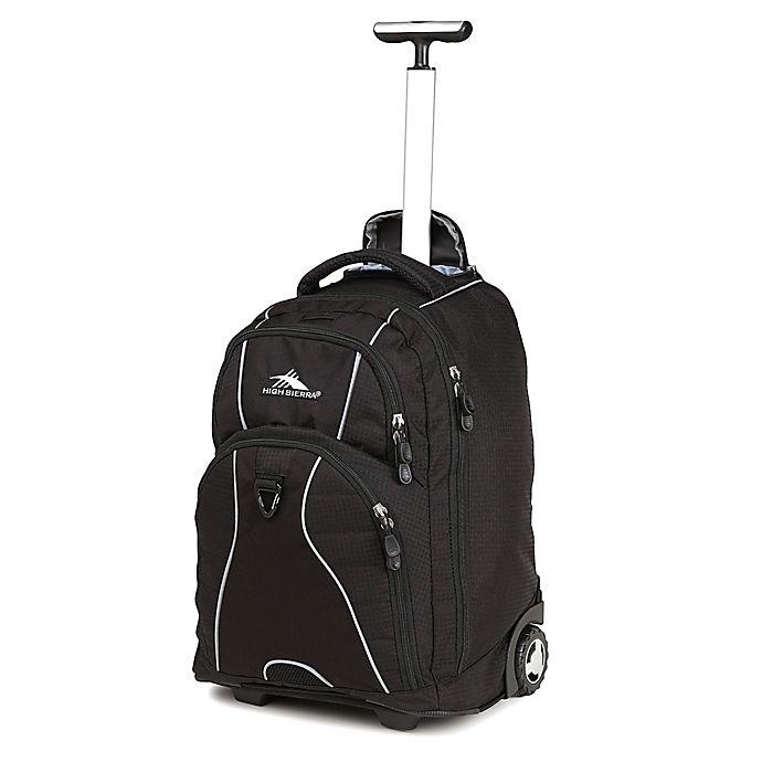 High SierraR Freewheel 20 Inch Wheeled Backpack In Black