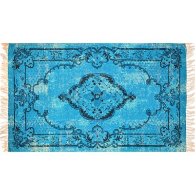 Artisan Printed 2 Foot 6 Inch X 4 Foot Medallion Accent