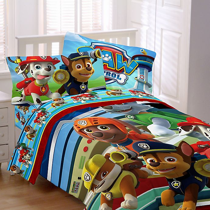 Nickelodeon™ PAW Patrol Bedding Collection | Bed Bath & Beyond