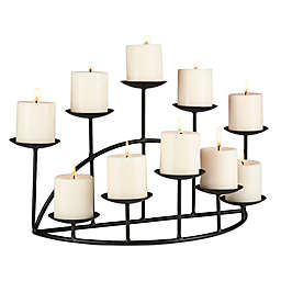 Southern Enterprises Holly & Martin 10-Light Preston Candelabra