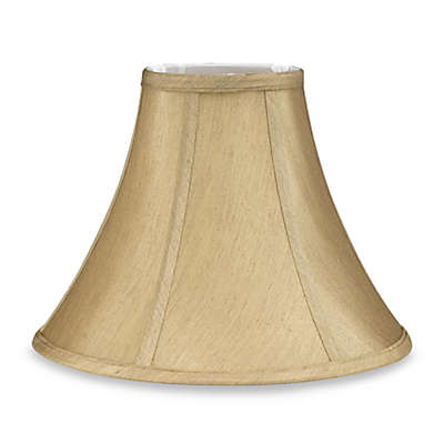 Dolan Designs Mix & Match Fabric Bell Lamp Shade Collection in Beige