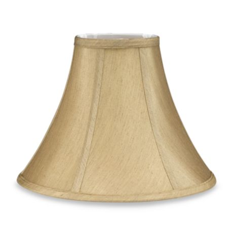 Mix Amp Match Small 11 Inch Bell Lamp Shade In Beige Bed