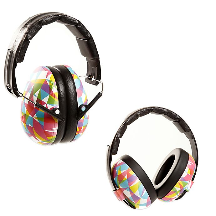 Alternate image 1 for Baby BanZ EarBanZ Hearing Protection in Geo Print