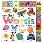 My First Words: Let's Get Talking!  Book