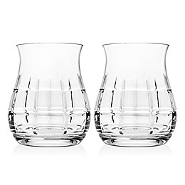 Top Shelf Tartan Whiskey Glasses (Set of 2)