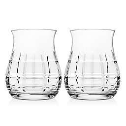 Top Shelf Tartan Whiskey Glasses (Set of 2)