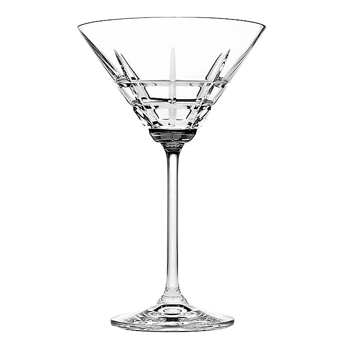 Alternate image 1 for Top Shelf Tartan Martini Glasses (Set of 4)