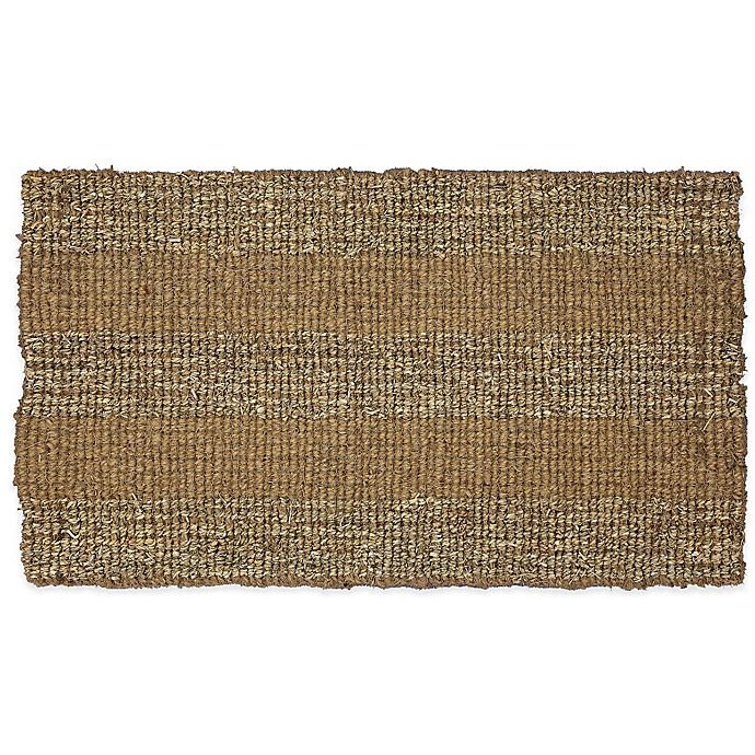 Alternate image 1 for Mohawk Home 29.5-Inch x 17-Inch Seagrass Block Door Mat