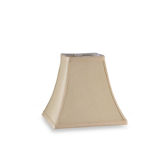 Mix Match Small Square Bell Lamp Shade In Ivory
