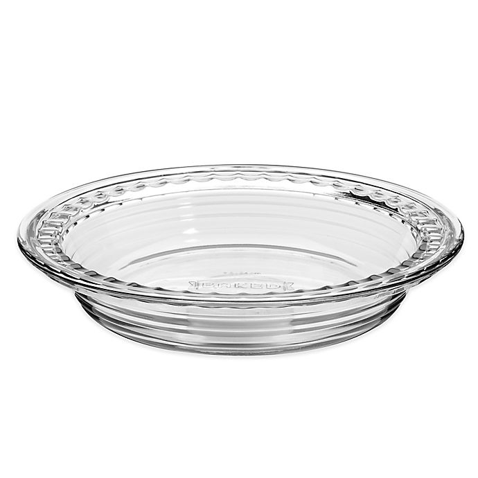 Alternate image 1 for Anchor Hocking® Baked by Fire King Deep Pie Dish with Fluted Edge