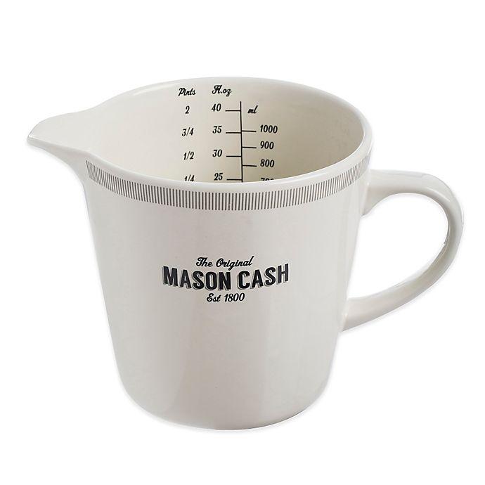 Alternate image 1 for Mason Cash® Baker Lane Ceramic Measuring Jug