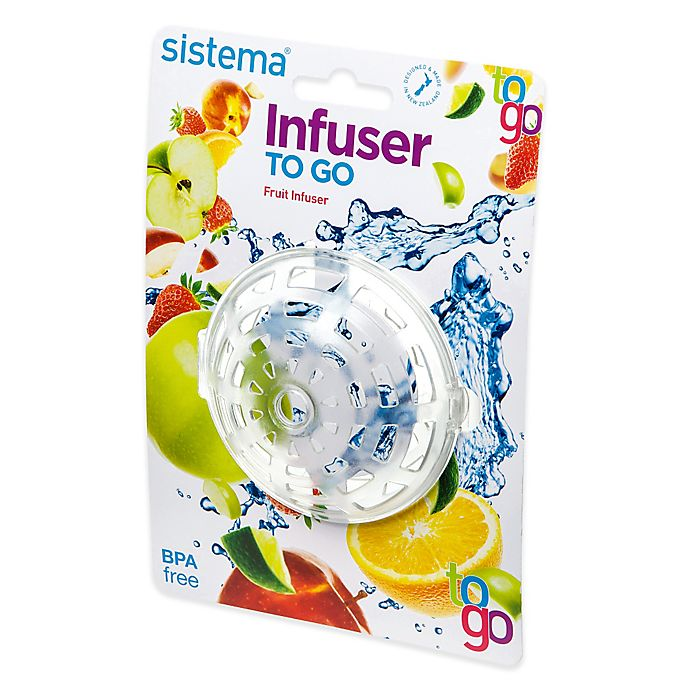 Go Bed And Bath: Sistema® Infuser To Go
