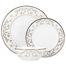 Lenox® Opal Innocence™ Silver 3-Piece Place Setting with All Purpose Bowl