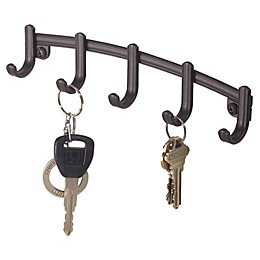InterDesign® York Lyra Wall Mount Key Rack
