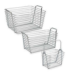 InterDesign® Classico Basket in Chrome