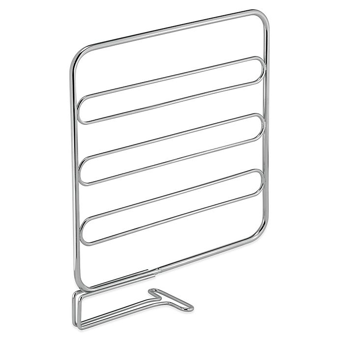 Alternate image 1 for InterDesign® Classico Shelf Dividers in Chrome (Set of 2)