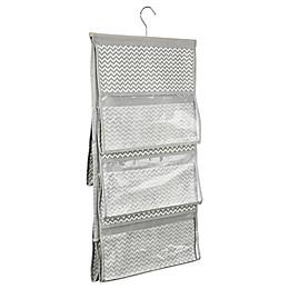 InterDesign® Axis Hanging Handbag Organizer in Taupe