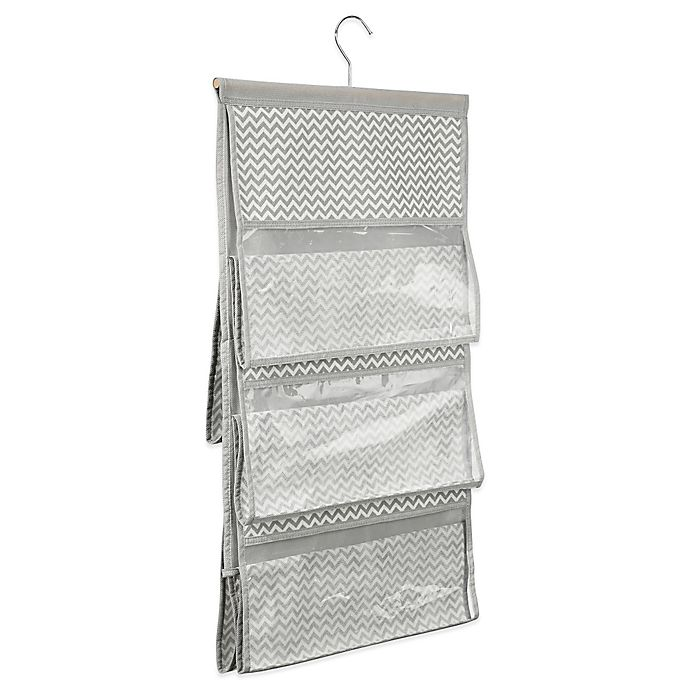 Alternate image 1 for InterDesign® Axis Hanging Handbag Organizer in Taupe