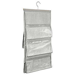 InterDesign® Axis Hanging Handbag Organizer in Taupe
