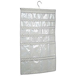 InterDesign® Axis Hanging Jewelry Organizer in Natural/Taupe