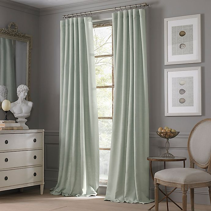 Alternate image 1 for Valeron Estate Cotton Linen Window Curtain Panel