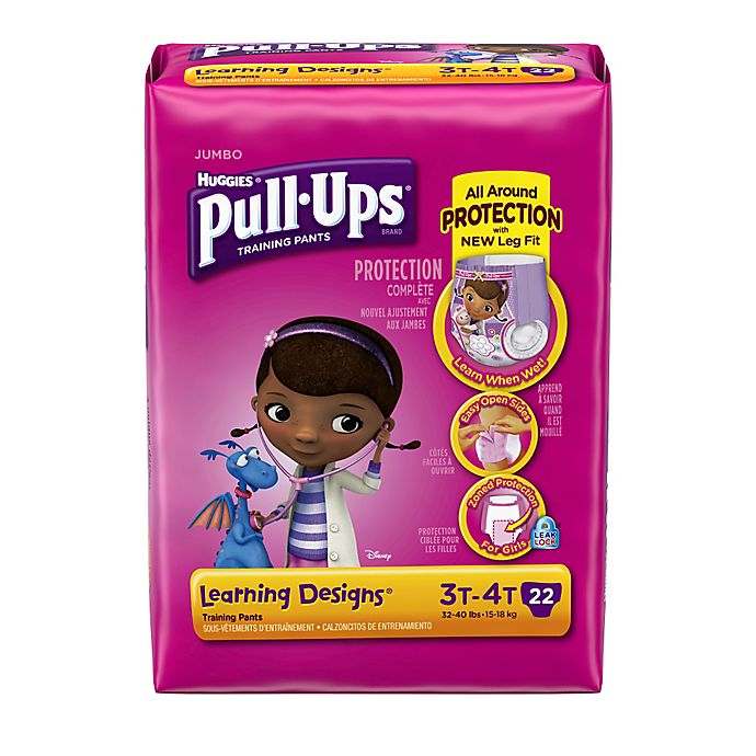 Alternate image 1 for Huggies® Pull-Ups® Learning Designs® Size 3T-4T Jumbo 22-Count Disposable Training Pants