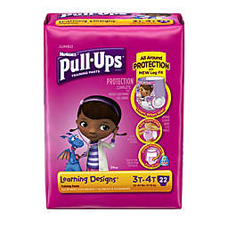 Pull-Ups® Learning Designs® Jumbo 22-Count Disposable Girl's 3T in 4T Training Pants