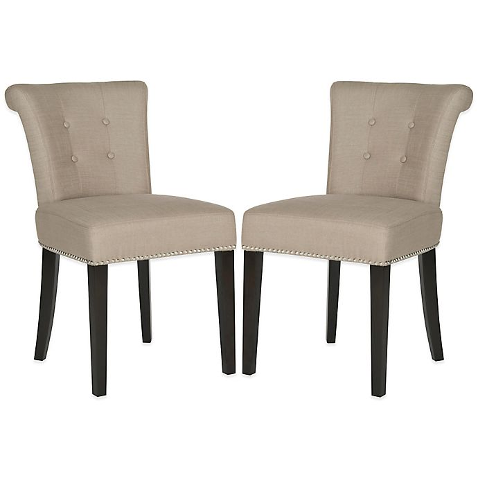 Alternate image 1 for Safavieh Sinclair Ring Chairs in Beige (Set of 2)