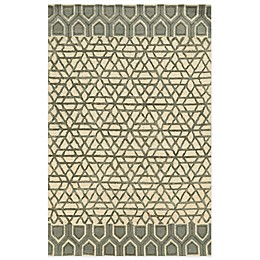 Rizzy Home Eden Harbor Geometric Rug in Ivory