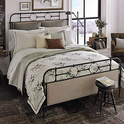 Beekman 1802 Sangerfield Duvet Cover in Ivory