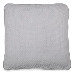 Wamsutta® Collection Lucca Square Throw Pillow in Grey