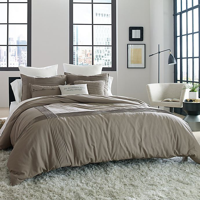 Alternate image 1 for Kenneth Cole Reaction Home Structure Duvet Cover