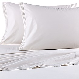Beekman 1802 Sangerfield Flat Sheet in Silver Birch