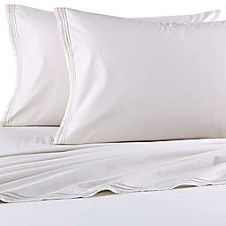 Beekman 1802 Sangerfield Fitted Sheet in Silver Birch
