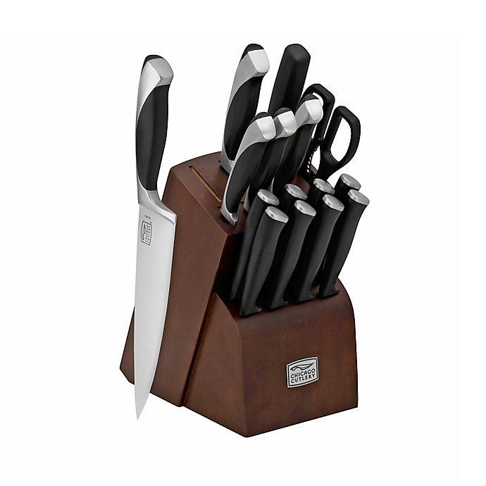 Chicago Cutlery Fullerton 16 Piece Knife Block Set Bed