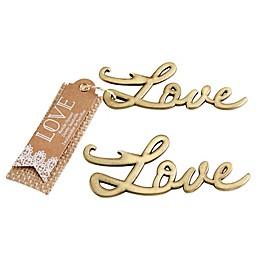 Kate Aspen® Love Bottle Opener in Antique Gold
