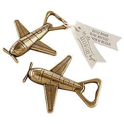 Kate Aspen® Let the Adventure Begin Airplane Bottle Opener