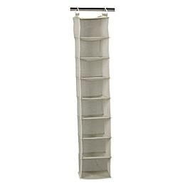 Household Essentials® 8-Shelf Hanging Organizer in Tea Fog