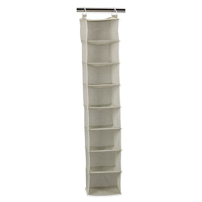 Alternate image 1 for Household Essentials® 8-Shelf Hanging Organizer in Tea Fog