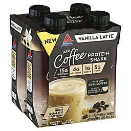 Atkins® 4-Pack Vanilla Latte Iced Coffee Protein Shake
