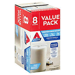 Atkins® 8-Pack French Vanilla Protein-Rich Shakes