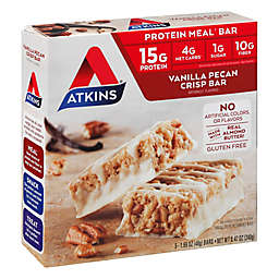 Atkins® 5-Pack Vanilla Pecan Crisp Protein Meal Bar
